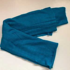Free People Blue Blanket Scarf